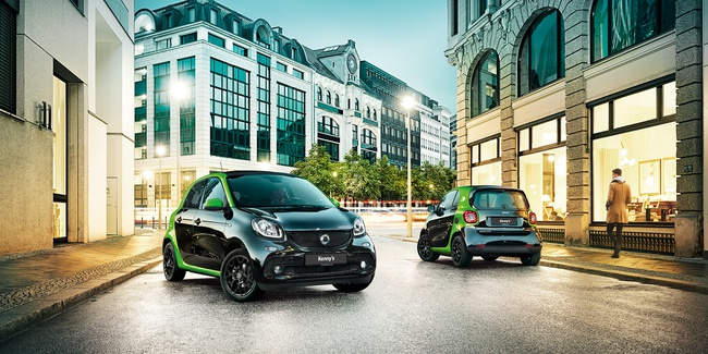 Die neuen smart electric drive