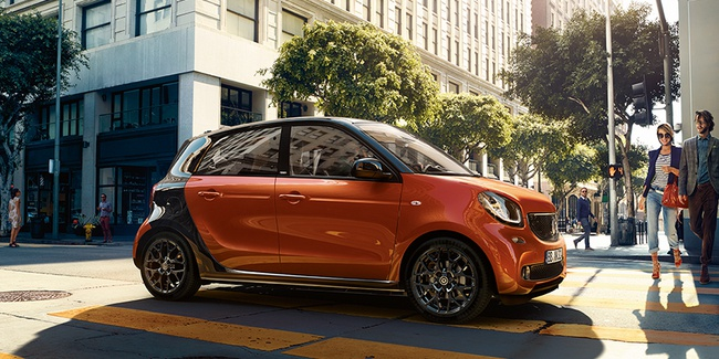 Der smart forfour «citypassion».