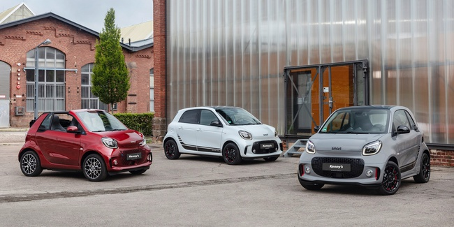 smart EQ fortwo und forfour.