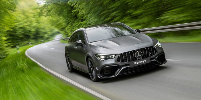 Der neue Mercedes-AMG CLA 45 4MATIC+ Shooting Brake.