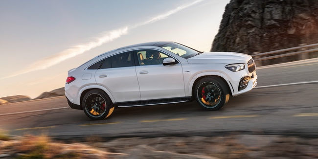 Not an SUV. An AMG.
